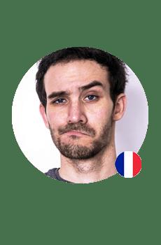 Een Franse stem voor op je antwoordapparaat? Thomas heeft een jonge klank die zeer vertrouwd aanvoelt.